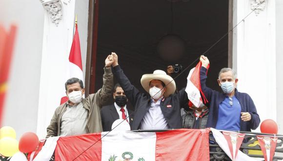 Pedro Castillo es el candidato presidencial de Perú Libre y está a la espera de los resultados de la segunda vuelta al 100%. (Foto: GEC)