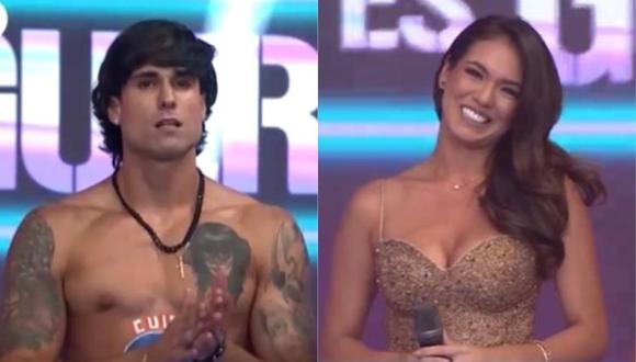 """Gino Assereto fue presentado en la nueva temporada de """"Esto es guerra"""" y habló de Jazmín Pinedo. (Foto: Captura América TV)"""