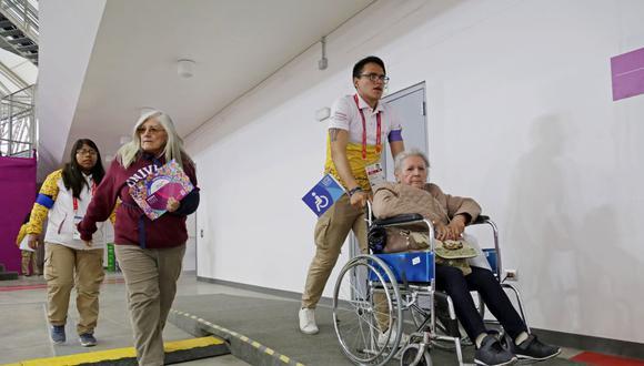 Los voluntarios de Lima 2019 también participar en las jornadas de vacunación contra el COVID-19. (Foto: Proyecto Legado)