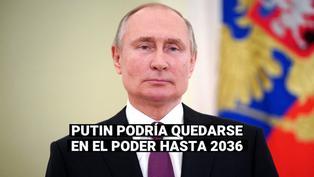 Rusia: Vladimir Putin promulga ley que le permitirá permanecer en el Kremlin hasta 2036
