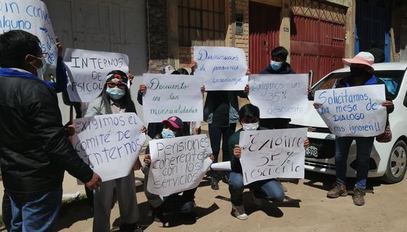 Varios grupos de pobladores protestaron en la región. Foto: Difusión