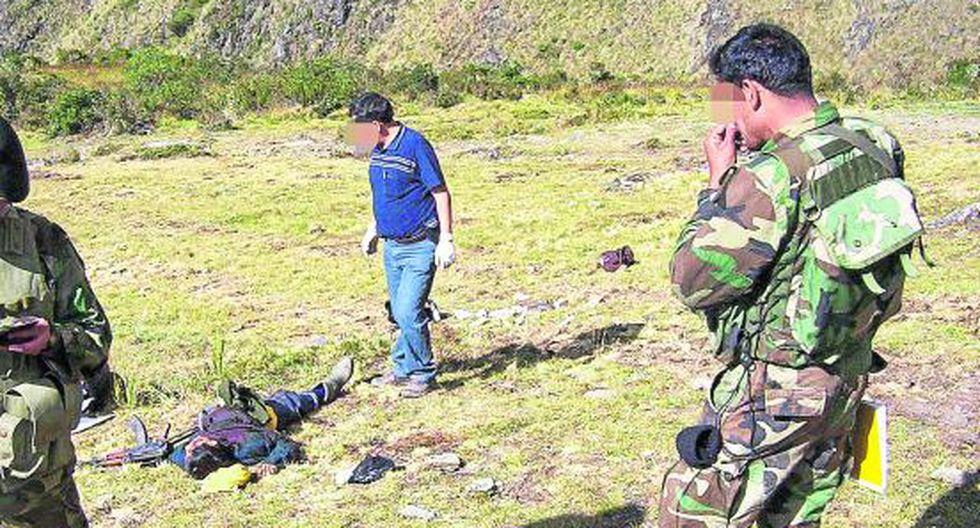 Dos muertos deja balacera entre 'narcos' y rondas campesinas