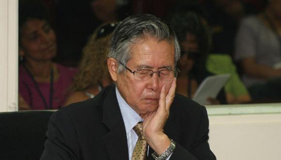 Fujimori pidió cumplir su condena bajo arresto domiciliario