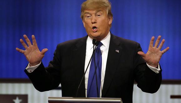 Donald Trump: cambió de rumbo para la prensa