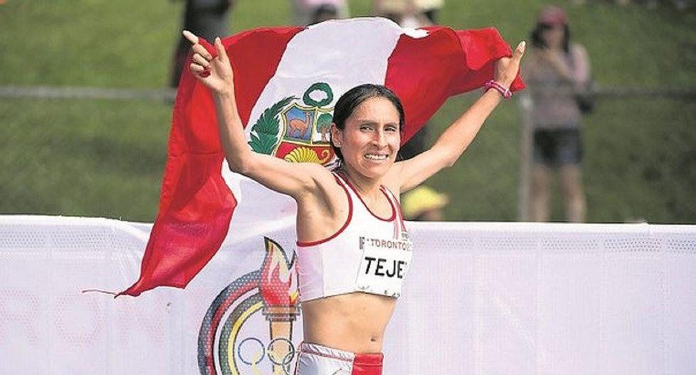 Gladys Tejeda obtuvoel segundo puesto en Maratón Internacional de Nagano