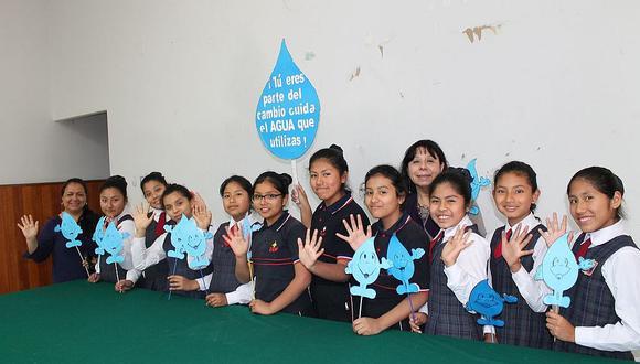 """Cerca de 200 escolares conforman brigada de """"Las Guardianas del Agua"""""""