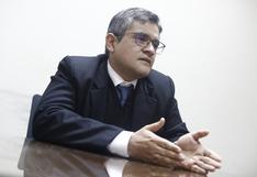 José Domingo Pérez pide suspender 2 años y medio a Fuerza Popular
