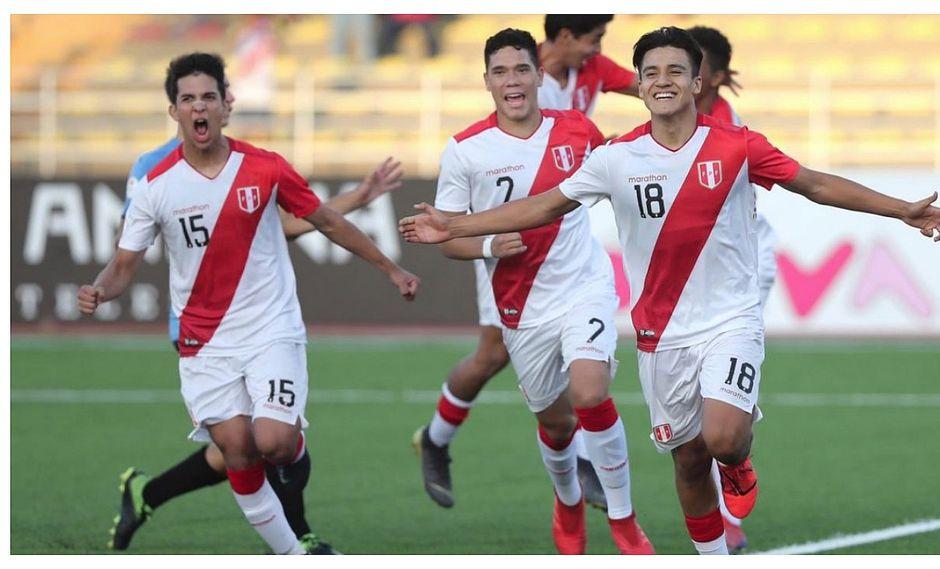 Perú vs Uruguay: Óscar Pinto vuelve a marcar y pone en ventaja a la Blanquirroja (VIDEO)
