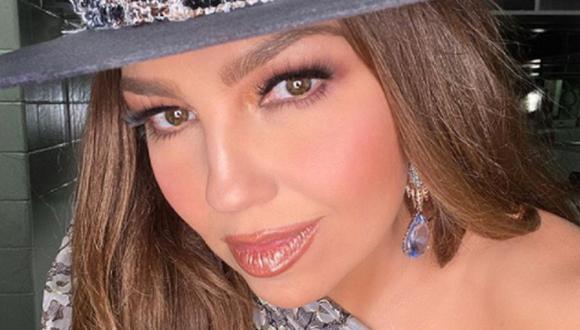 """Thalía sorprendió a sus fans al revelar la fecha de lanzamiento de su álbum """"desAMORfosis"""". (Foto: @thalia)"""
