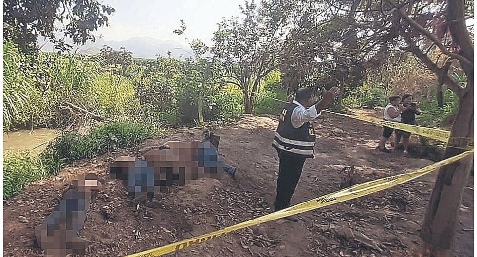 Minería ilegal sería el móvil de ejecución de 5 hombres
