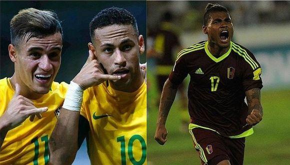 Copa América: Venezuela y Brasil, rivales de Perú, juegan amistosos de preparación