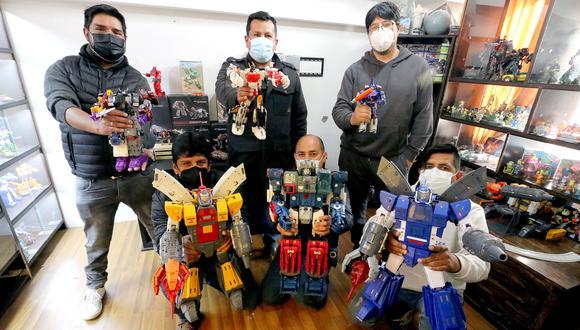 Transformers Cusco. Foto: Juan Sequeiros.
