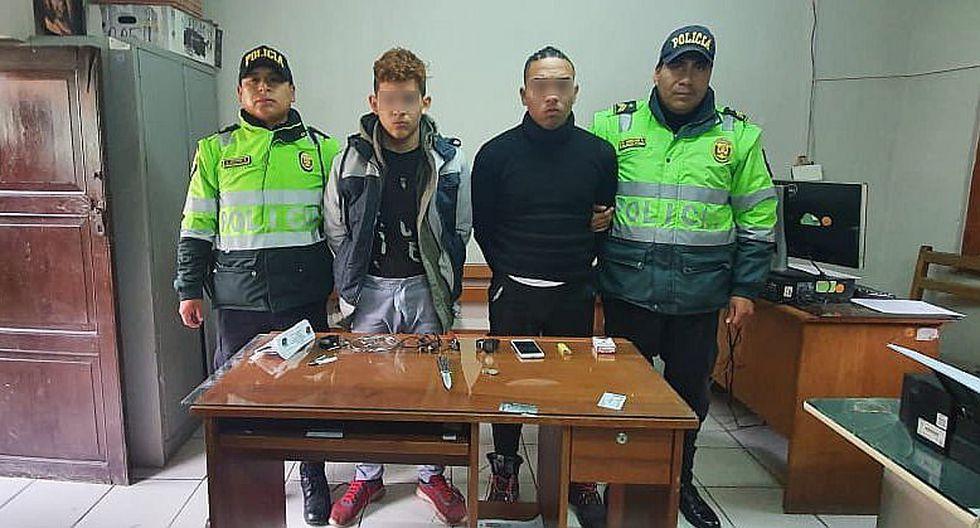 """Cusco: detienen a parte de la banda """"Los Chamos de Villa Sol"""""""