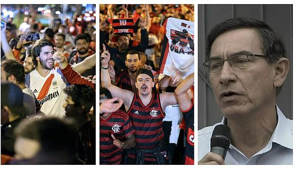 Martín Vizcarra: Final de Copa Libertadores refleja estabilidad y confianza en el Perú