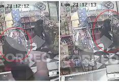 Chincha: Cámaras captaron violento asalto que terminó con un herido de bala (VIDEO)