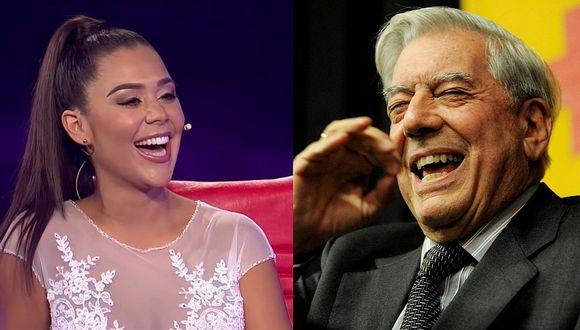 'La Chama' confesó que Mario Vargas Llosa le pidió tomarse una foto con ella (VIDEO)