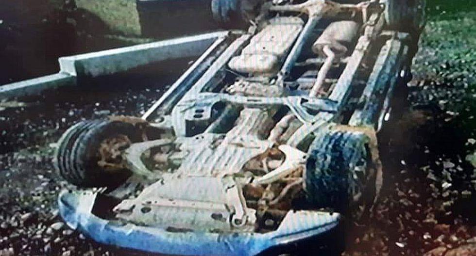 Pasajeros de una camioneta resultan heridos en Angasmarca