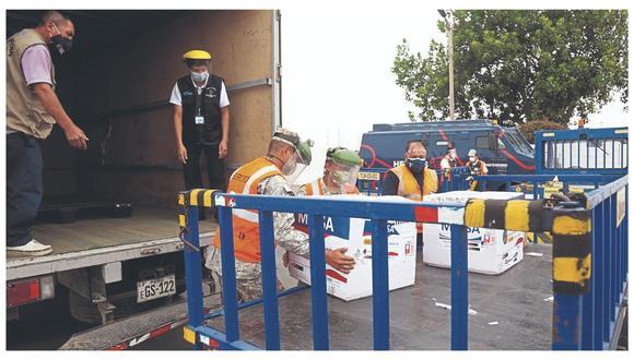 Por la letalidad, unas 3,900 serán  distribuidas a la provincia de Ascope y 10,140 dosis irán a 10 distritos de la provincia de Trujillo. Sin embargo, hay gran preocupación por peligrosa variante peruana de Covid-19.