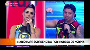 """Mario Hart a Korina: """"No puede ser que tu esposo sea el último en enterarse que te vas a presentar en este programa"""""""