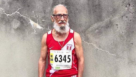 Falleció Hugo Delgado, campeón mundial de atletismo máster
