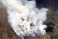Incendio en Choquequirao ya va a cumplir un mes, solicitan ataque aéreo y declaratoria de emergencia (VIDEO)